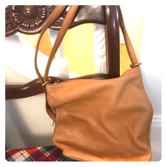HOBO Handbags - Hobo Blaze convertible leather backpack in camel 957be007767a4
